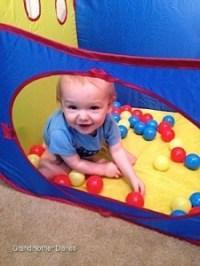 Playhut Mega Fun with Balls Tent: #Review : Grandmother ...