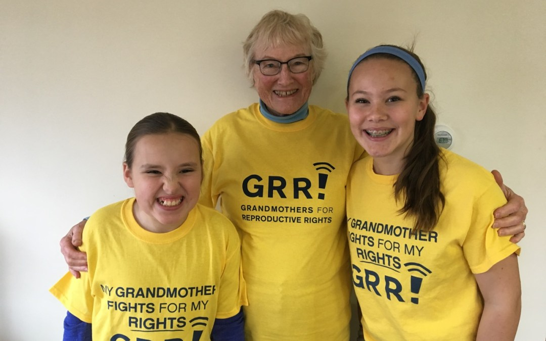 Maine Grandmothers fight for Reproductive Rights