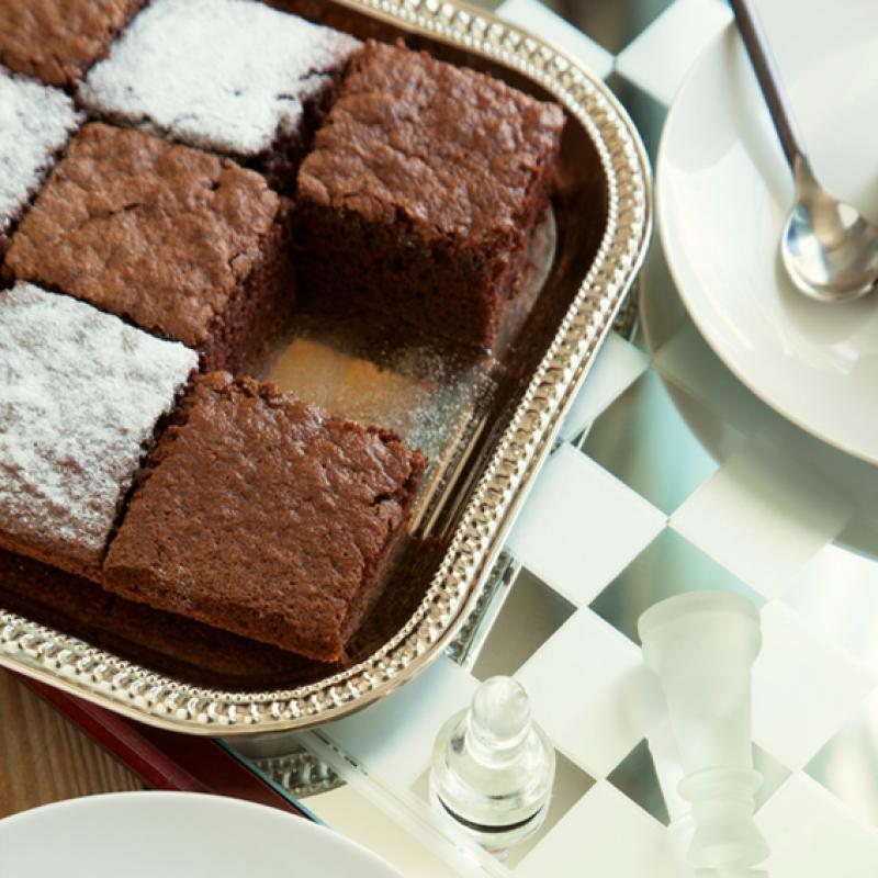 Fancy Brownies Recipe