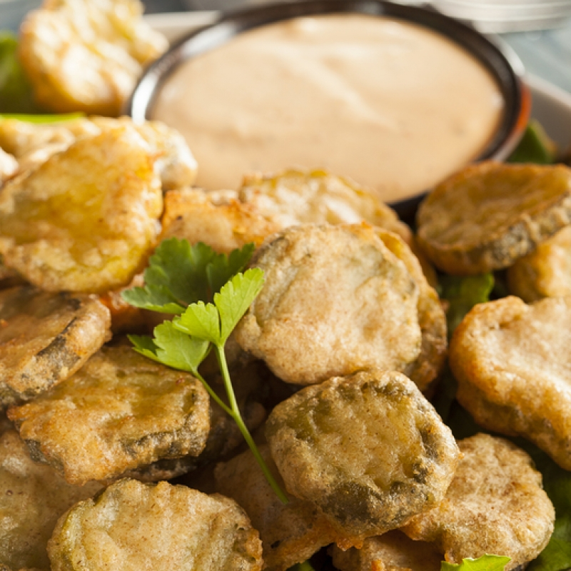 Fried Pickles Dill Dip Recipe