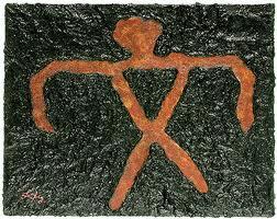 man-petroglyph