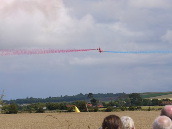 red arrows at east fortune air show 2012