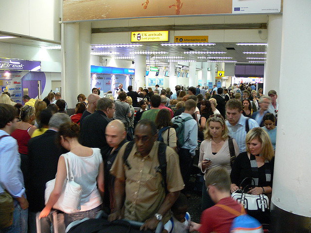 manchester airport security