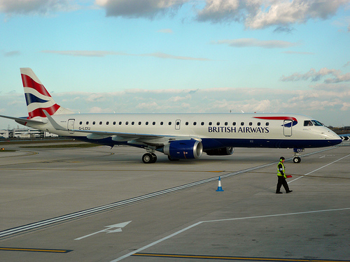 British Airways Charter Flight