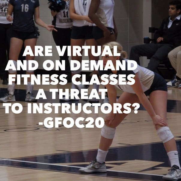 Are Virtual and On Demand Fitness Classes a Threat to Instructors?