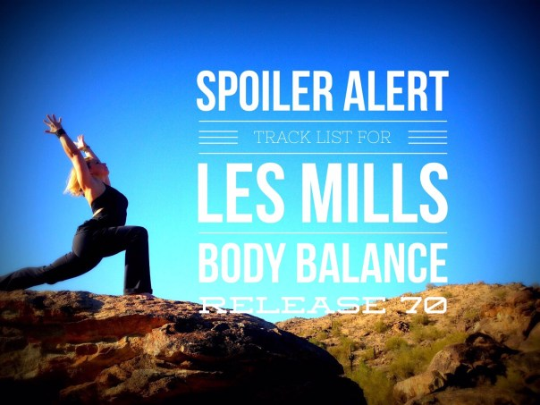 Les Mills Body Balance release 70