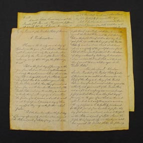 The emancipation proclamation - Original Document Photograph - GOP Blog. Click for larger picture.
