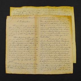 The emancipation proclamation - Original Document Photograph - GOP Blog. Click for larger picture.