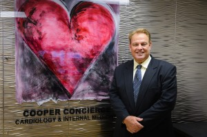 Dr. Daniel M. Cooper has opened Cooper Concierge Medicine, a concierge practice that includes all-in-one cardiology and internal medicine comprehensive care.  STAFF PHOTO/RACHEL S. O'HARA
