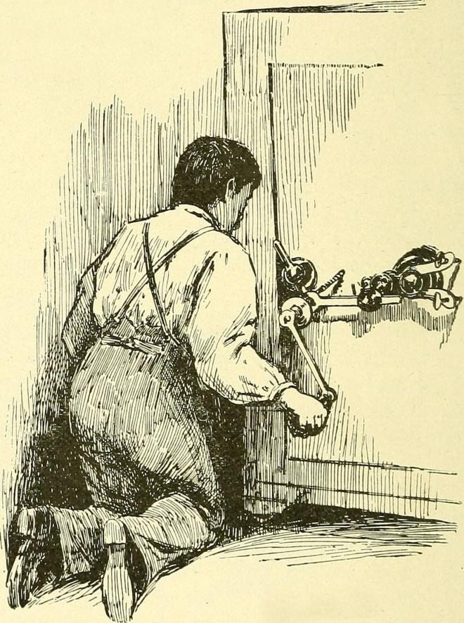 Сверление сейфа / Flickr, Internet Archive