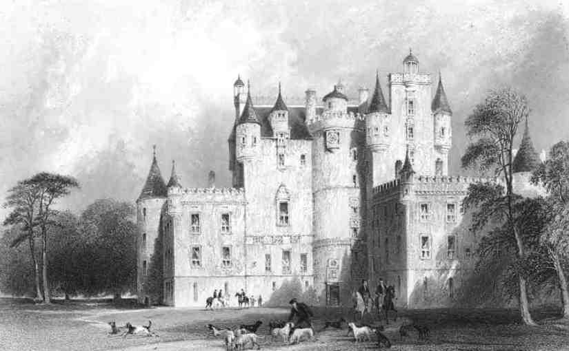 Глэмисский замок / antiquemapsandprints.com