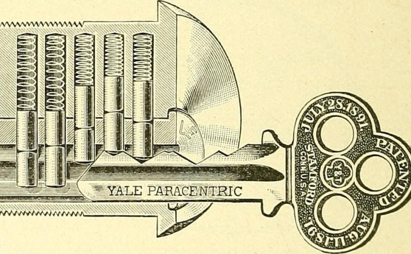 Устройство замка / Flickr, Internet Archive
