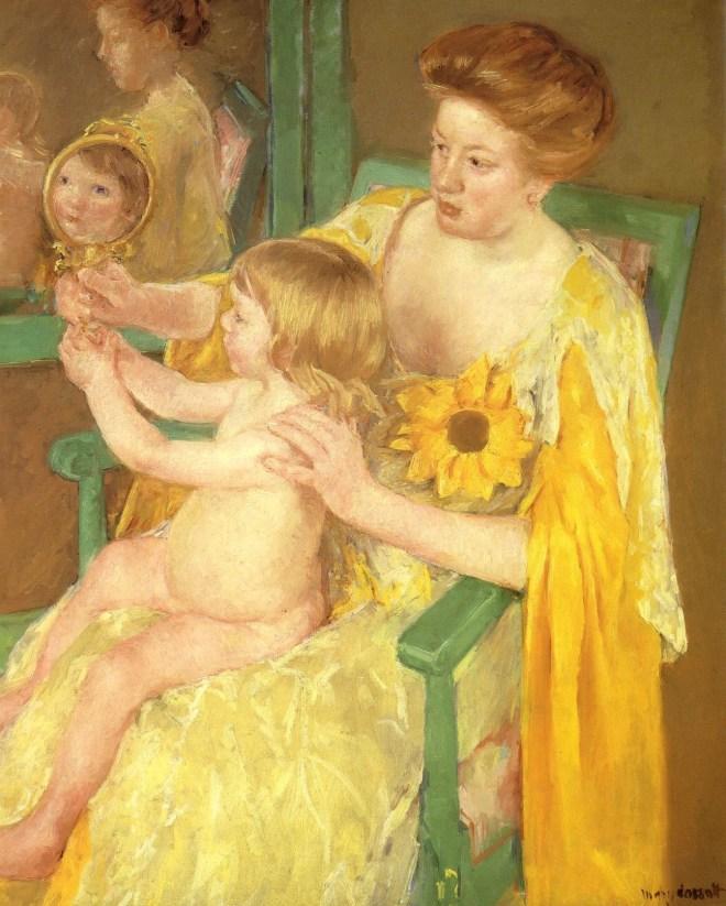"""Мэри Кассат """"Мать и ребенок"""", 1905"""