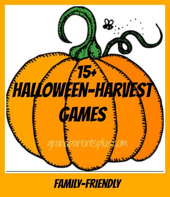 Halloween-Harvest Games grandparentsplus.com