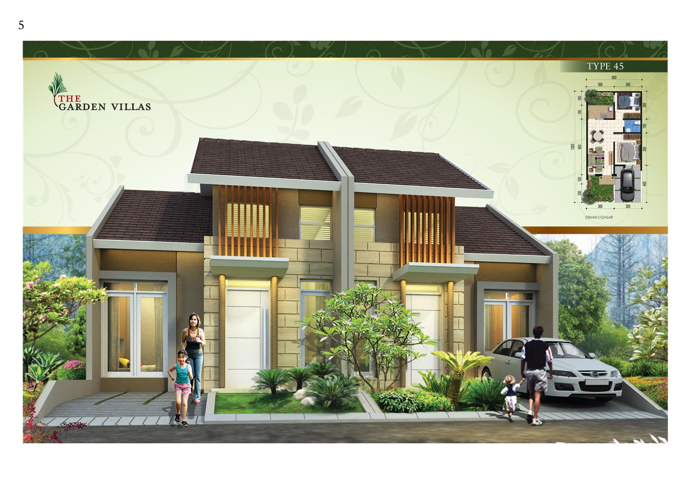 harga baja ringan per meter di bandung the garden villas residence | grand pinus regency