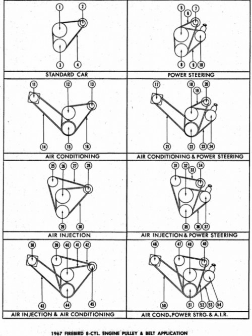 small resolution of 67 firebird pulley belt pictures 770x1024