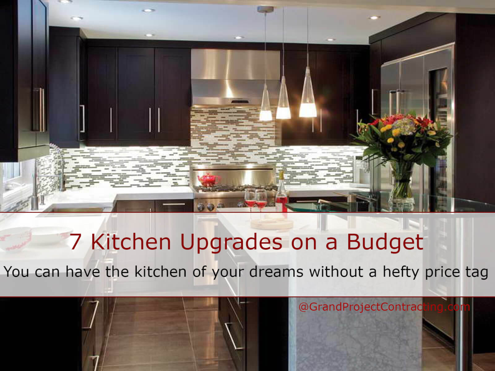 kitchen upgrades frigidaire package 7 on a budget grand project contracting