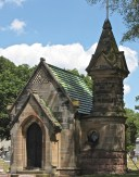 The chapel and mausoleum of Father Patrick McManus, built by subscription at St. Andrew's in 1887.