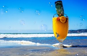 Beach-Bubbles