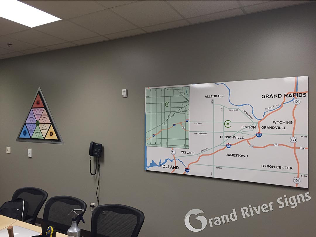 Interior Wall Graphics Grand River Signs Grand Rapids