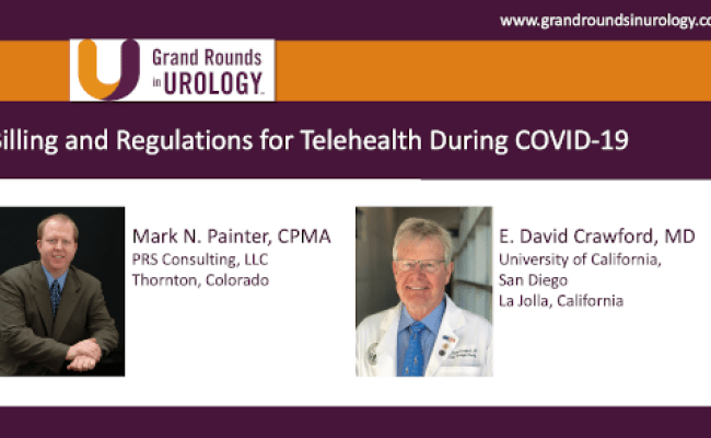 Covid 19 Resources For The Urologist Grand Rounds In Urology