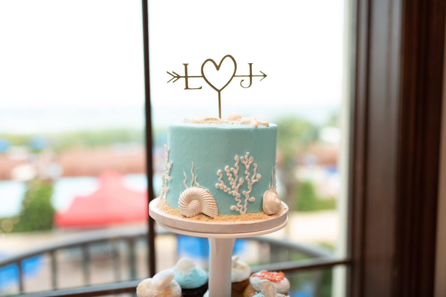 Wedding cake - Grande Dunes Ocean Club - Myrtle Beach