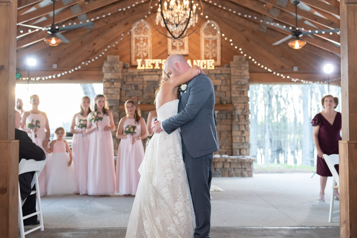 First dance - Wildhorse at Parker Farms