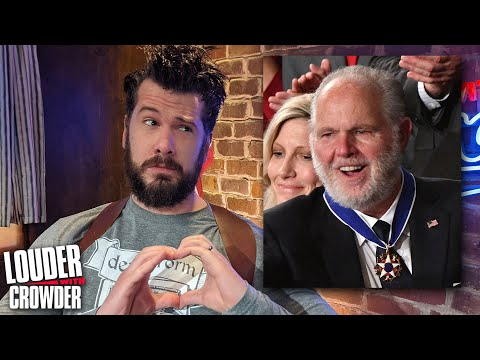 Rush Limbaugh Was a Hero: Why The Left Hated Him!   Louder with Crowder