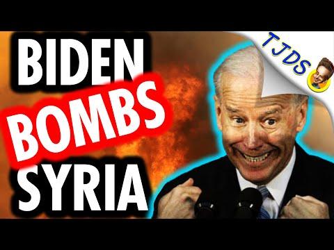 Biden Does Air Strikes Before Relief Checks!