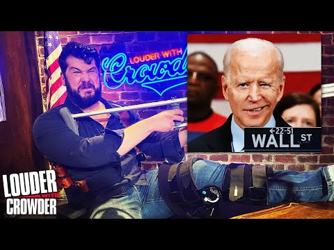 WAR!! WALL STREET vs. MAIN STREET!   Louder with Crowder