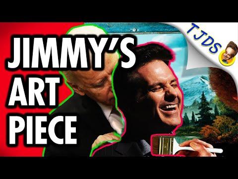 Jimmy's Art Piece Reveals Nightmare of Biden's America