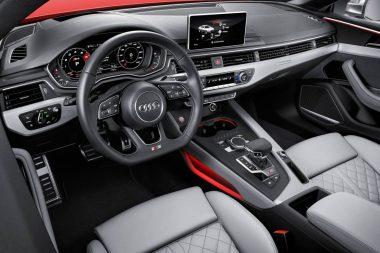 Interior of Audi S5