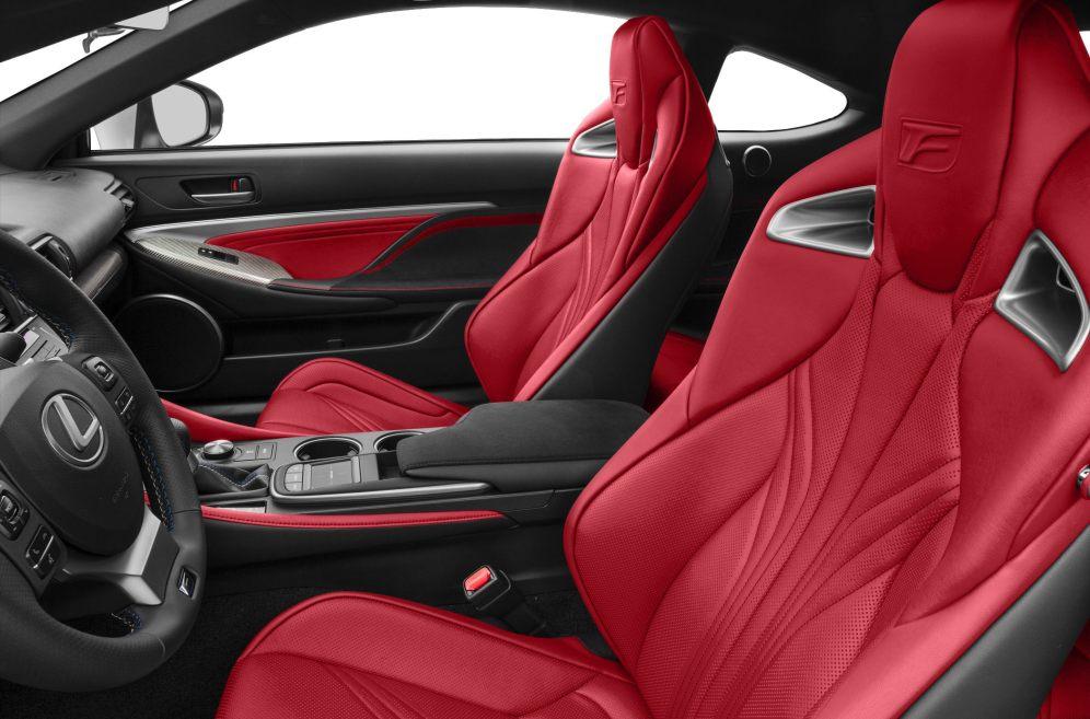 Lexus RC200t Interior