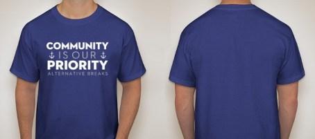 Community is our Priority - GVSU AB 2017