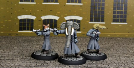 Killers, sculpted by Andrew May and painted by Kevin Dallimore