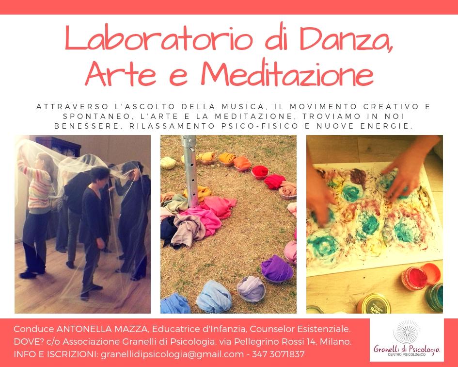 Laboratorio di Danza, Arte e Meditazione