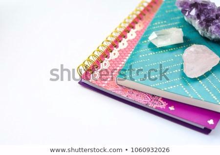 journals-crystals-on-white-background-450w-1060932026