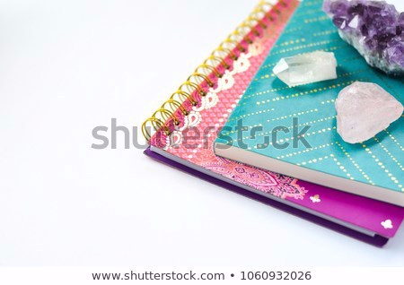 journals-crystals-on-white-background-450w-1060932026