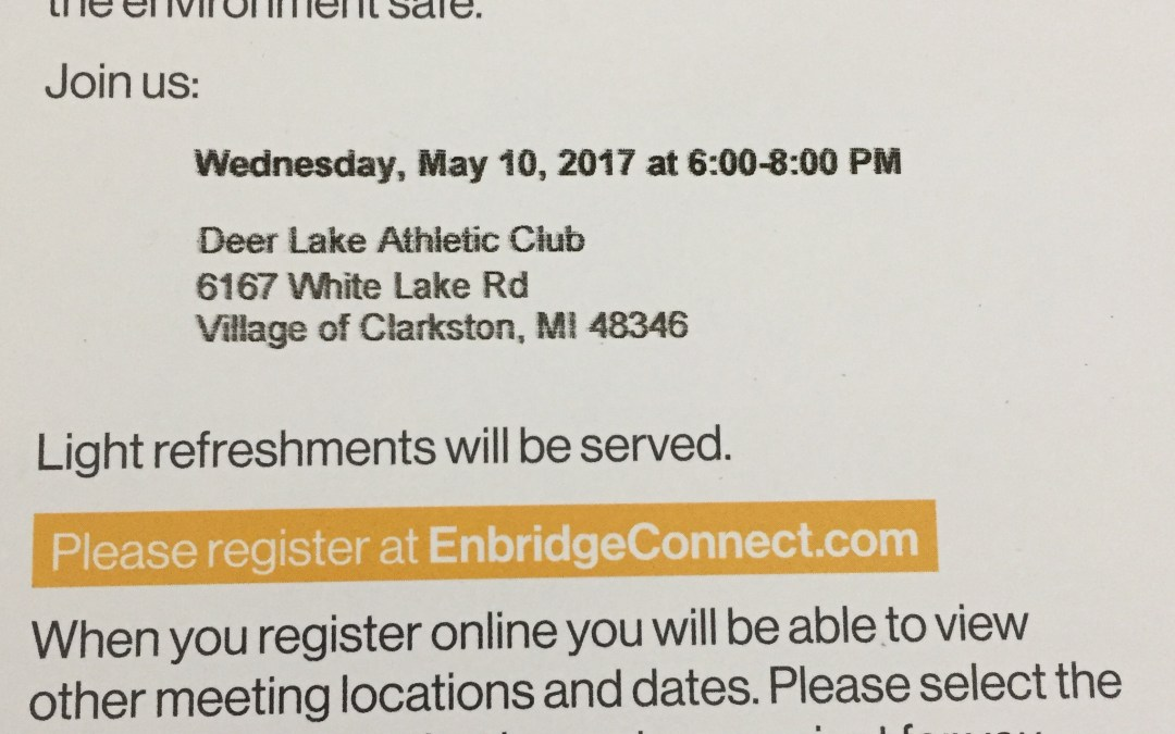 Enbridge Community Meetings