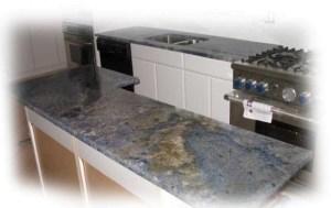 Blue Granite Countertop