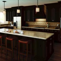 Red Cherry Cabinets Kitchen Modern Images Alder