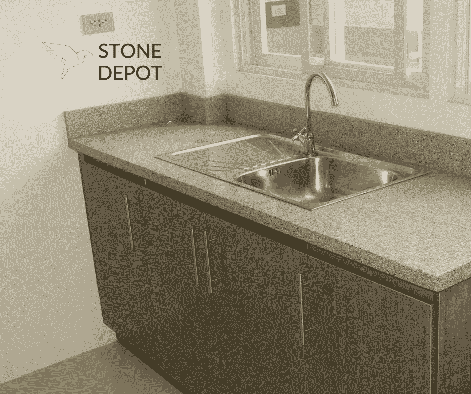 Salt and Pepper granite kitchen countertop in Talamban, Cebu City