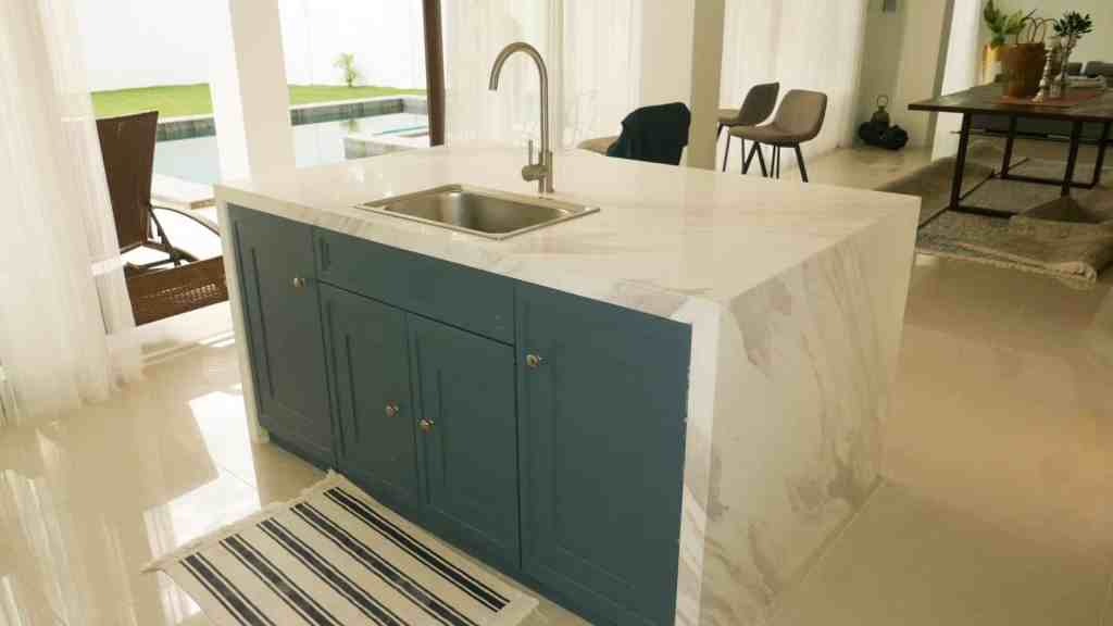 Keep your marble stone away from items that can etch or stain its surface.