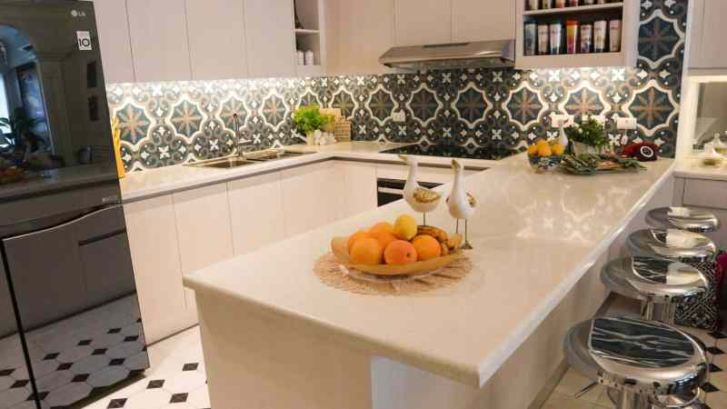 White Quartz Kitchen Countertop Manila Philippines