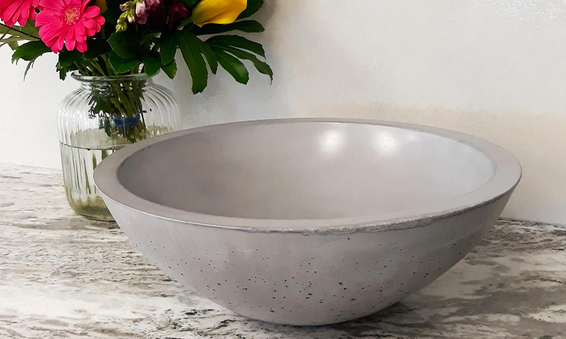 hand made glass fibre reinforced concrete basin