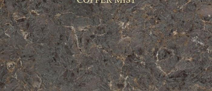 Silestone Copper Mist Granite Countertop Chattanooga