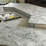 Colonial White Leather Granite Chicago Granite Countertops Chicago