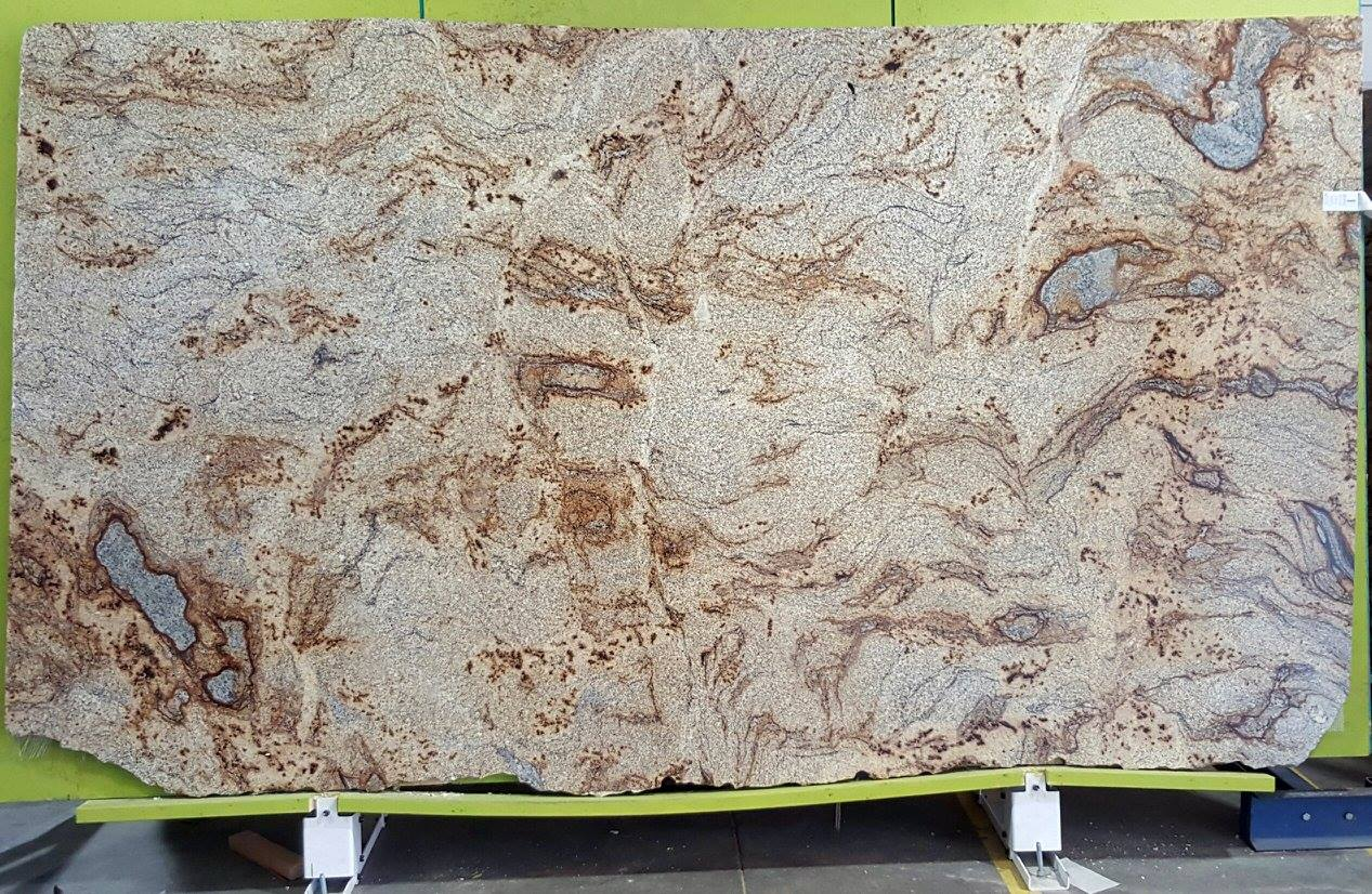 Golden Crystal Granite Countertops The Traditional Design Of The