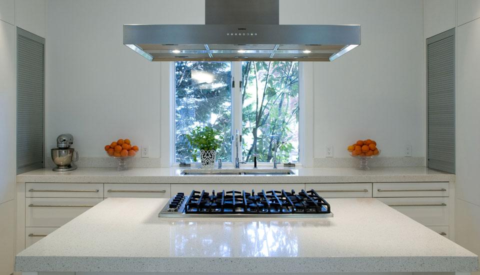 White Engineered Stone Countertops