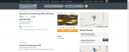 Citysearch profile for Granite Countertop Warehouse